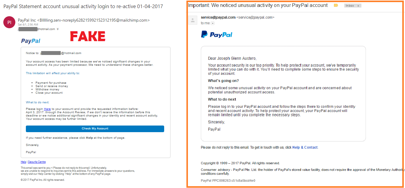 Phishing Alert: How to Determine If PayPal's